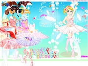 Ballerina Dress up 2 game