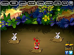 Devil Rabbit Hunt game