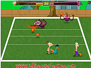 Phineas and Ferb Alien Ball game