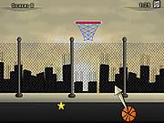 Juega al juego gratis Urban Basketball Shoots