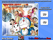 Doraemon Jigsaw game