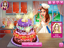 Ella's Wedding Cake game