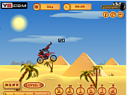 Pyramid Moto Stunts game
