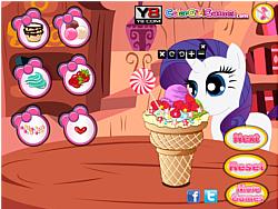 Little Pony Ice Cream game