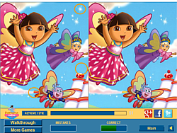 Cute Dora Difference game