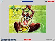 Taz Jigsaw game