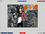 Generator Rex Jigsaw game