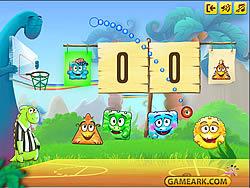 Dino Basketball game