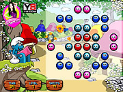 Smurf Shoot with Balls game