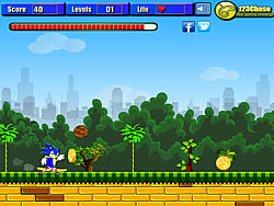Super Sonic Runner game