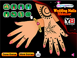 New Wedding Nails Makeover game
