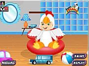 Cute Baby Boy Bath game