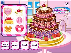 Surprise Birthday Cake game