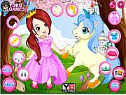 Princess With Unicorn game