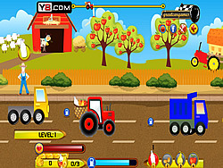 Farmer Delivery Rush game
