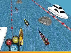 Ocean Drift Racing game