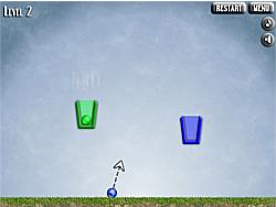 Bucket-Ball game