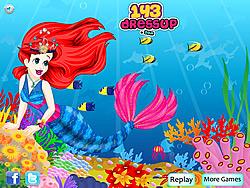Mermaid Princess Dressup game
