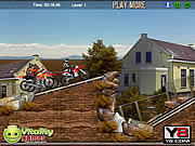 Desert Dirt Motocross game