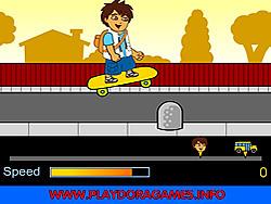 Diego School Skateboard game