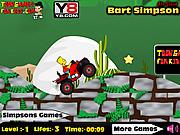 Bart Simpson ATV Drive game