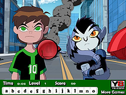 Ben 10 Omniverse Hidden Letters game
