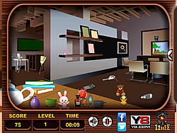 Messy Rooms Hidden Objects game