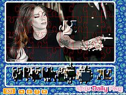 Entrancing Lady Gaga Puzzle game