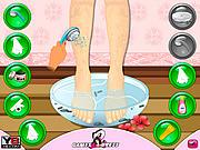 Beauty Leg Makeover game