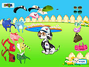 Doggy Dress up game