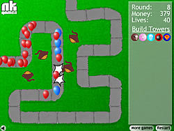 juego Bloons Tower Defense