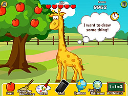Jane Care Baby Giraffe game