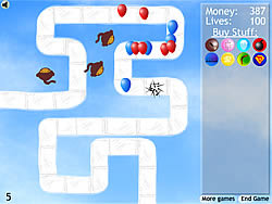 Bloons Tower Defense 2 game