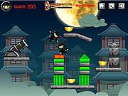 Ninja Cannon Shots game