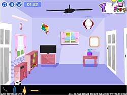 All Alone Home Escape game