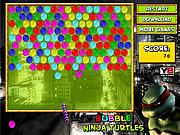 เล่นเกมฟรี Bubble Ninja Turtles
