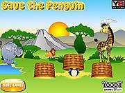 Juega al juego gratis Saving Penguin