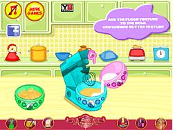 Smurfette Raspberry Cookie Bars game