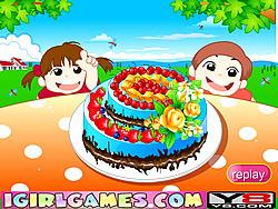 Beautiful Chocolate Cake game