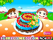 juego Beautiful Chocolate Cake