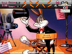 Bugs Bunny Hidden Objects game