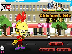Chicken Little Dress Up game