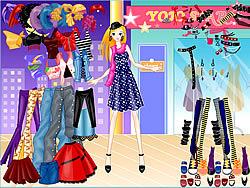 Viste A Barbie game
