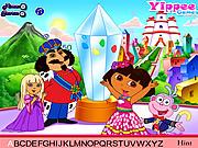 Cute Dora Hidden Alphabets game