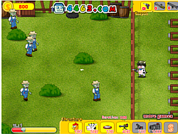 Cows Zombie War game