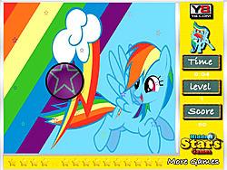 Rainbow Dash Hidden Stars game