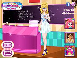 Dress My Lovely Teacher Up game