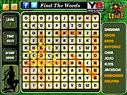Pop Singer Word Search game