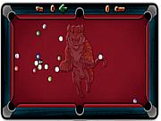 Billiard straight game