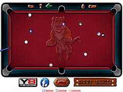 Straight Billiard game